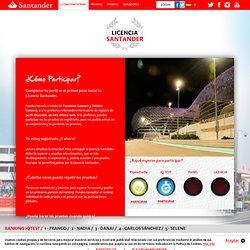 Licencia Santander