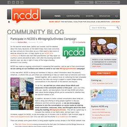 Participate in NCDD's #BridgingOurDivides Campaign