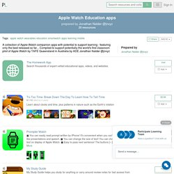 Participate Learning - Apple Watch Education apps