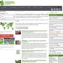 Tourisme participatif - voyage alternatif avec les habitants et acteurs du tourisme participatif