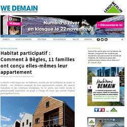 Habitat participatif : Comment à Bègles, 11 familles ont conçu elles-mêmes leur appartement