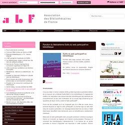 Outils Web 2.0 Bibliothèque