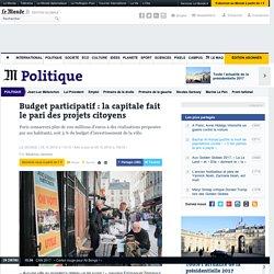 Budget participatif : la capitale fait le pari des projets citoyens