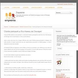 Chantier participatif sur l'Eco-Hameau de Chevaigné - Empreinte