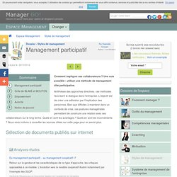 Management participatif : impliquer ses collaborateurs