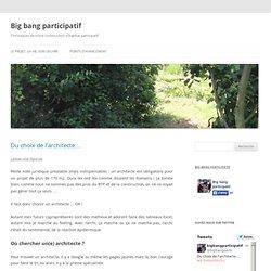 Big bang participatif - Chroniques de notre construction d'habitat participatif