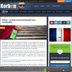 OKpal - Le financement participatif sans contrepartie