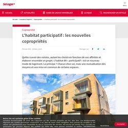 L'habitat participatif : les nouvelles copropriétés