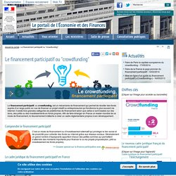 "Le financement participatif ou ""crowdfunding"""