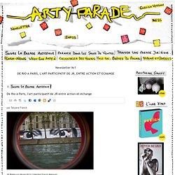 De Rio à Paris, l'art participatif de JR entre action et échange - Arty Parade - actualité culturelle, économique et juridique du monde l'art