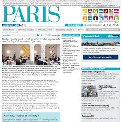 Budget participatif : 2m� pour cr�er des espaces de coworking �tudiants-entrepreneurs