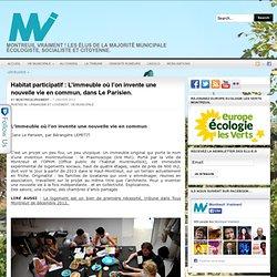 Habitat participatif : L'immeuble où l'on invente une nouvelle vie en commun, dans Le Parisien.