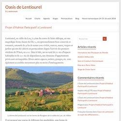 Projet d'Habitat Participatif à Lentiourel – Oasis de Lentiourel