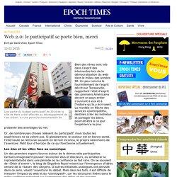 Web 2.0: le participatif se porte bien, merci
