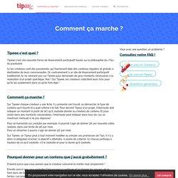Le tip participatif au service des créateurs du web