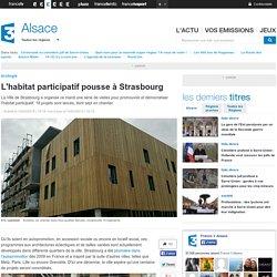 L'habitat participatif pousse à Strasbourg - France 3 Alsace