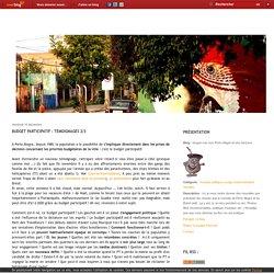 Budget participatif : témoignages 2/3 - longue-vue vers Porto Alegre et ses horizons