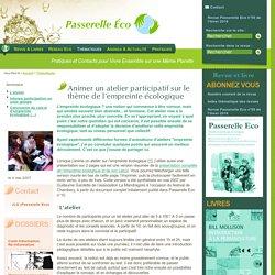 Animer un atelier participatif sur le thème de l'empreinte écologique -