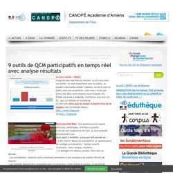 9 outils de QCM participatifs en temps réel avec analyse résultats