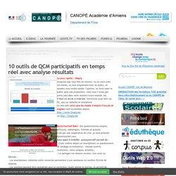 10 outils de QCM participatifs en temps réel avec analyse résultats