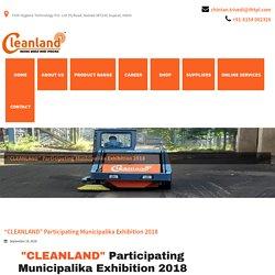 """CLEANLAND"" Participating Municipalika Exhibition 2018 - Cleanland"