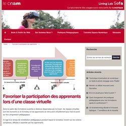 Favoriser la participation des apprenants lors d'une classe virtuelle
