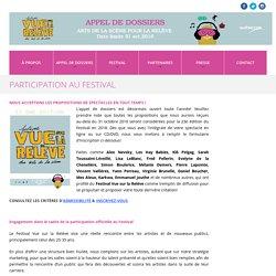 Participation au festival