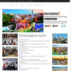 Participation form » BARCELONA ART FAIR