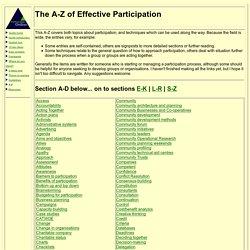 Participation guide: introduction