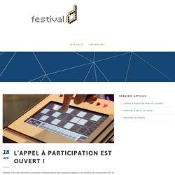 L'appel à participation est ouvert ! – Festival D