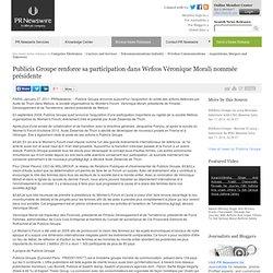 2011 Publicis acquiert Wefcos