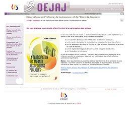 Un outil pratique pour rendre effectif le droit à la participation des enfants-::: :::-Secrétariat Général-Fédération Wallonie-Bruxelles