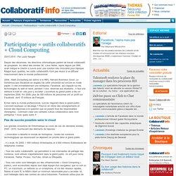 Participatique = outils collaboratifs + Cloud Computing