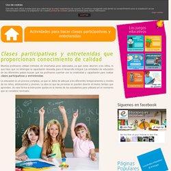Actividades para hacer clases participativas y entretenidas