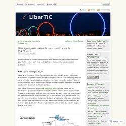Mise à jour participative de la carte de France de l'Open Data