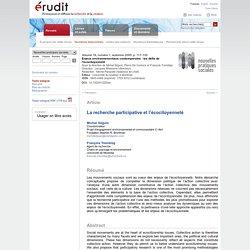 Nouvelles pratiques sociales v18 n1 2005, p.117-130