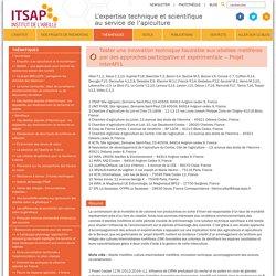 ITSAPTester une innovation technique favorable aux abeilles mellifères par des approches participative et expérimentale – Projet InterAPI1 - ITSAP
