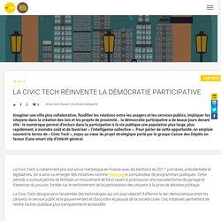 La Civic Techréinvente la démocratie participative - Bpifrance Le HubBpifrance Le Hub