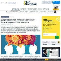 [Enquête] Comment l'innovation participative impacte l'organisation de l'entreprise