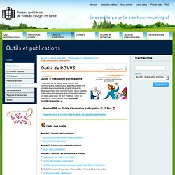 Guide d'évaluation participative