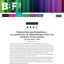Démarches participatives: co-construire la bibliothèque avec les enfants et les jeunes
