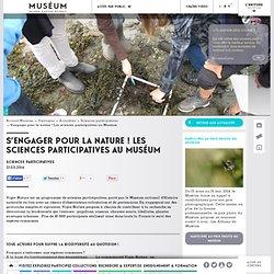 S'engager pour la nature ! Les sciences participatives au Muséum