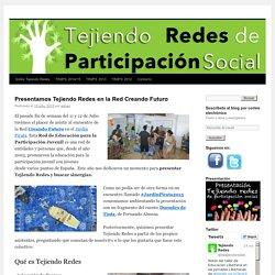 Se trata de un espacio de encuentro entre las personas vinculadas a procesos participativos desde cualquier ámbito: Administración, Cooperativas de Iniciativa Social, Entidades Sociales, Colectivos y Movimientos So
