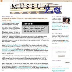 Are Museums Evolving with their Innovative Web Strategies?