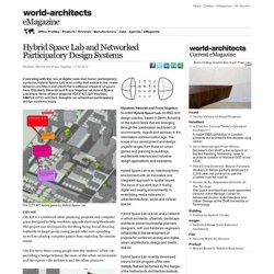 Hybrid Space Lab and Networked Participatory Design Systems
