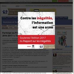 Participe au Prix «Jeunesse pour l'égalité» 2016-2017! «Tous égaux?»