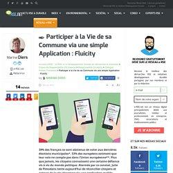 Participer à la vie de sa commune via une application : Fluicity