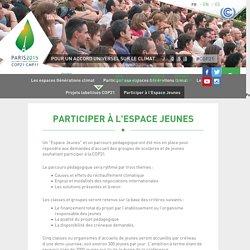 Participer à l'Espace Jeunes