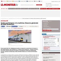 Systra (RATP) participera à la maîtrise d'oeuvre générale d