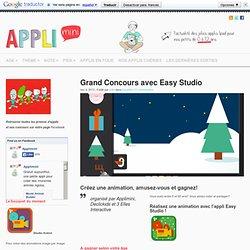 Participez au grand concours Easy Studio sur Applimini Applimini